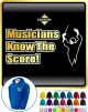 Music Notation Musicians Score - ZIP HOODY