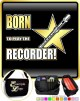 Recorder Born To Play - TRIO SHEET MUSIC & ACCESSORIES BAG