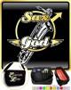 Saxophone Sax Baritone Sax God Wings - TRIO SHEET MUSIC & ACCESSORIES BAG