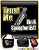 Saxophone Sax Baritone Trust Me - TRIO SHEET MUSIC & ACCESSORIES BAG