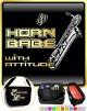Saxophone Sax Baritone Horn Babe Attitude - TRIO SHEET MUSIC & ACCESSORIES BAG
