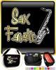 Saxophone Sax Tenor Fanatic - TRIO SHEET MUSIC & ACCESSORIES BAG
