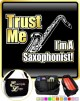 Saxophone Sax Tenor Trust Me - TRIO SHEET MUSIC & ACCESSORIES BAG