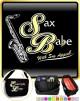 Saxophone Sax Tenor Sax Babe Appeal - TRIO SHEET MUSIC & ACCESSORIES BAG