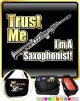 Saxophone Sax Soprano Trust Me - TRIO SHEET MUSIC & ACCESSORIES BAG