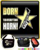 Saxophone Sax Alto Born To Play - TRIO SHEET MUSIC & ACCESSORIES BAG