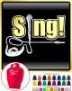 Vocalist Singing Sing - Micro With Jack Plug - HOODY