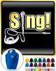 Vocalist Singing Sing - Micro With Jack Plug - ZIP HOODY