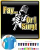 Vocalist Singing Pay or I Sing - POLO SHIRT