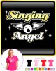 Vocalist Singing Angel - Wings - LADY FIT T SHIRT