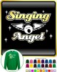 Vocalist Singing Angel - Wings - SWEATSHIRT