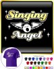 Vocalist Singing Angel - Wings - CLASSIC T SHIRT