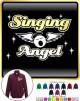 Vocalist Singing Angel - Wings - ZIP SWEATSHIRT
