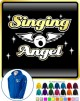 Vocalist Singing Angel - Wings - ZIP HOODY