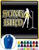 Vocalist Singing Song Bird - ZIP HOODY