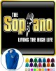 Vocalist Singing Soprano Living The High Life - ZIP HOODY