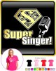 Vocalist Singing Super Singer Segno - LADY FIT T SHIRT