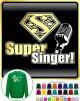 Vocalist Singing Super Singer Segno - SWEATSHIRT