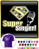 Vocalist Singing Super Singer Segno - CLASSIC T SHIRT