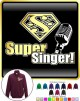 Vocalist Singing Super Singer Segno - ZIP SWEATSHIRT