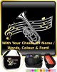 Tenor Horn Curved Stave With Your Words - SHEET MUSIC & ACCESSORIES BAG
