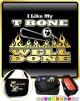 Trombone Like My T Bone Well Done - TRIO SHEET MUSIC & ACCESSORIES BAG