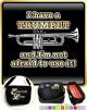 Trumpet Not Afraid Use - TRIO SHEET MUSIC & ACCESSORIES BAG