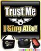 Vocalist Singing The Voice - TRIO SHEET MUSIC & ACCESSORIES BAG