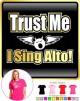 Vocalist Singing The Voice - LADY FIT T SHIRT