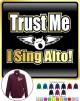 Vocalist Singing The Voice - ZIP SWEATSHIRT