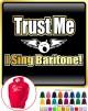 Vocalist Singing Trust Me I Sing Baritone - HOODY
