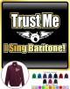 Vocalist Singing Trust Me I Sing Baritone - ZIP SWEATSHIRT