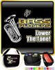 Tuba Lower The Tone - TRIO SHEET MUSIC & ACCESSORIES BAG