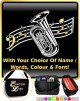 Tuba Curved Stave With Your Words - SHEET MUSIC & ACCESSORIES BAG