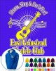 East Grinstead Ukulele Club - ZIP HOODY